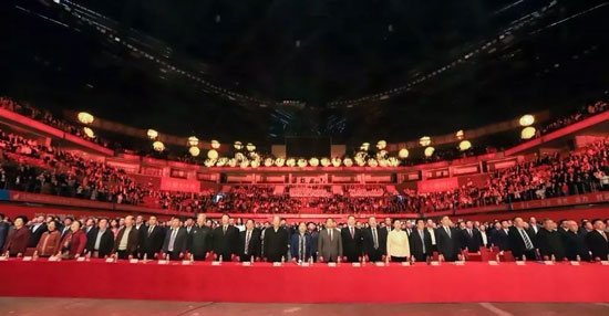自力应邀参加深圳500强企业授权牌盛典与市领导新春联谊会